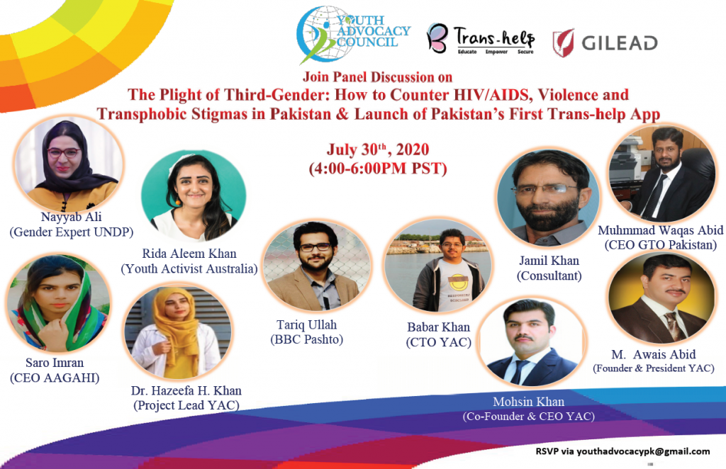 Combating Transphobic Stigmas and Preventing Trans Community from HIV/AIDS endemic in Pakistan Transhelp.xyz | TransHelp App Download
